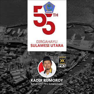 HUT Provinsi Sulut ke-55, Apa Harapan Kader PKS Kotamobagu?