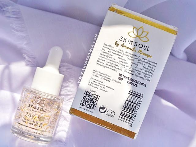 review skin soul serum sultan by amanda manopo