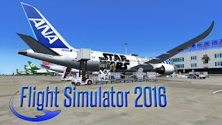 Flight Simulator X 2016 Air HD 1.3.1 APK + Data