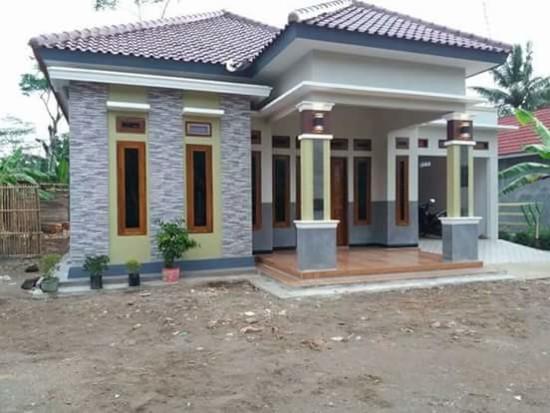 Lingkar Warna 33 Foto Rumah Minimalis Ala Indonesia Ini Sering Trend Di Group Facebook