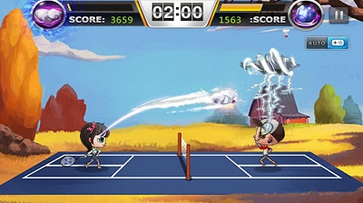 game android badminton