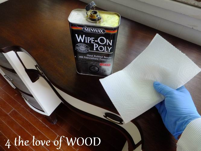 Wipe On Polyurethane Stain