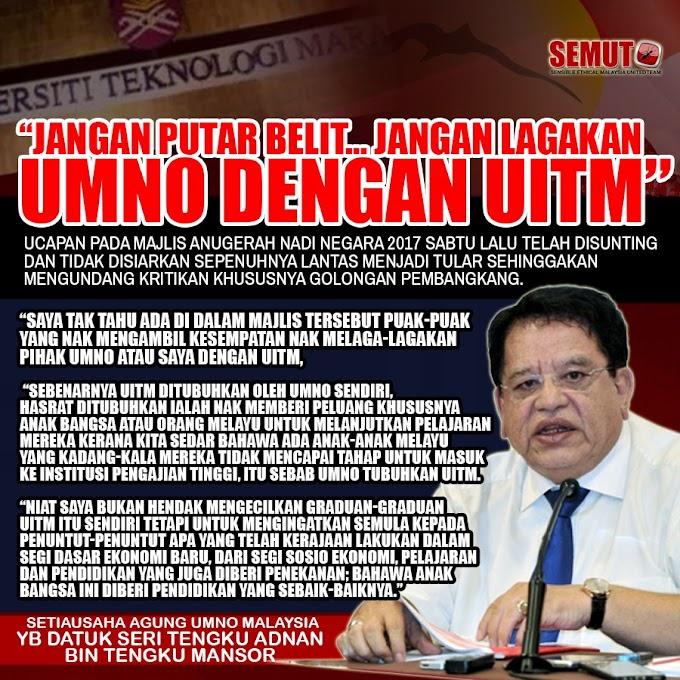 Ku Nan Dah Jawab Balik Isu UiTM & Dirinya, Cuba Baca Ni...