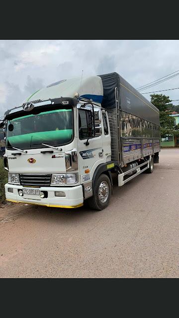 Đóng thùng xe tải Hyundai
