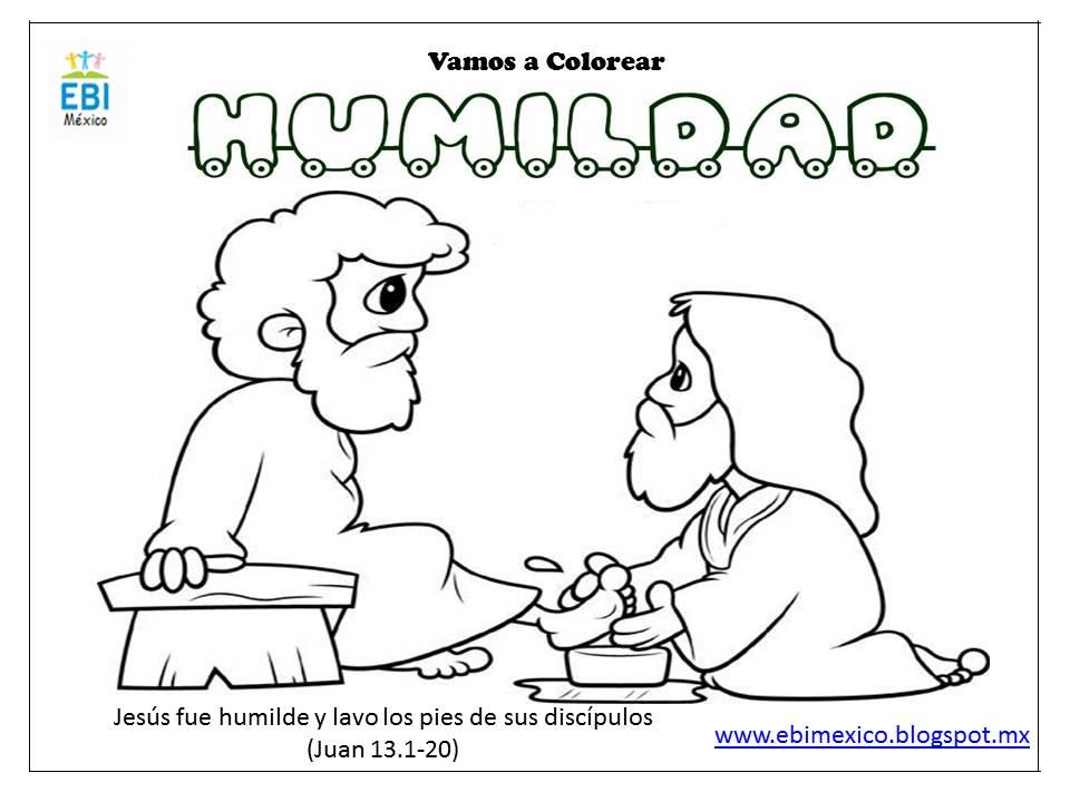 Humildad Dibujos Para Colorear Imagui