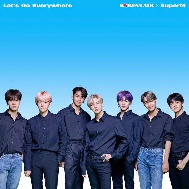 SuperM | Let's Go Everywhere - Korean Air