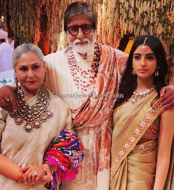 Amitab Bachhan Daughter Polki Jewellery