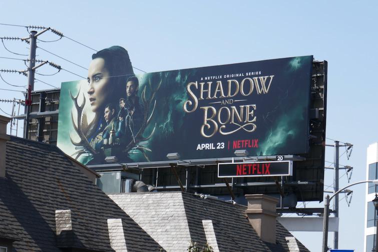 Shadow and Bone TV series billboard