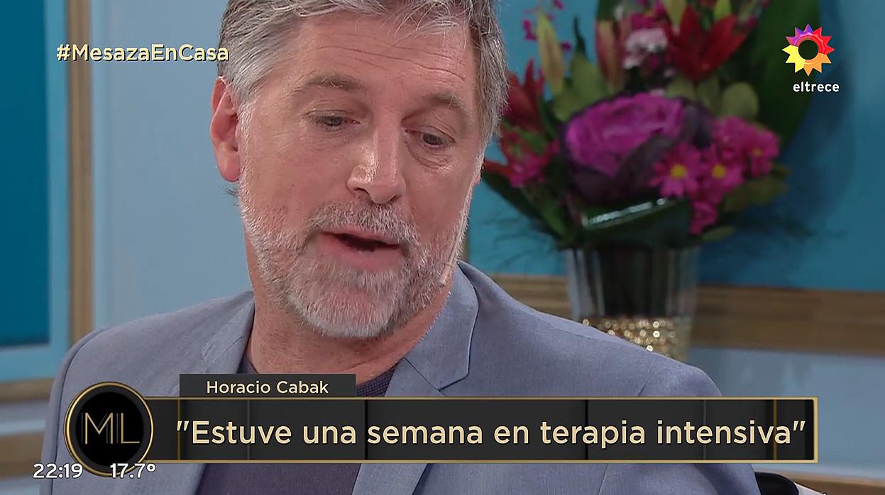 """Horacio Cabak en lo de Juana Viale: """"Vivo en mi casa, con mi mujer"""""""