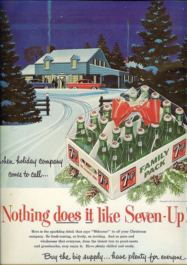 30 Vintage Ads That Will Give You A Taste Of Christmas