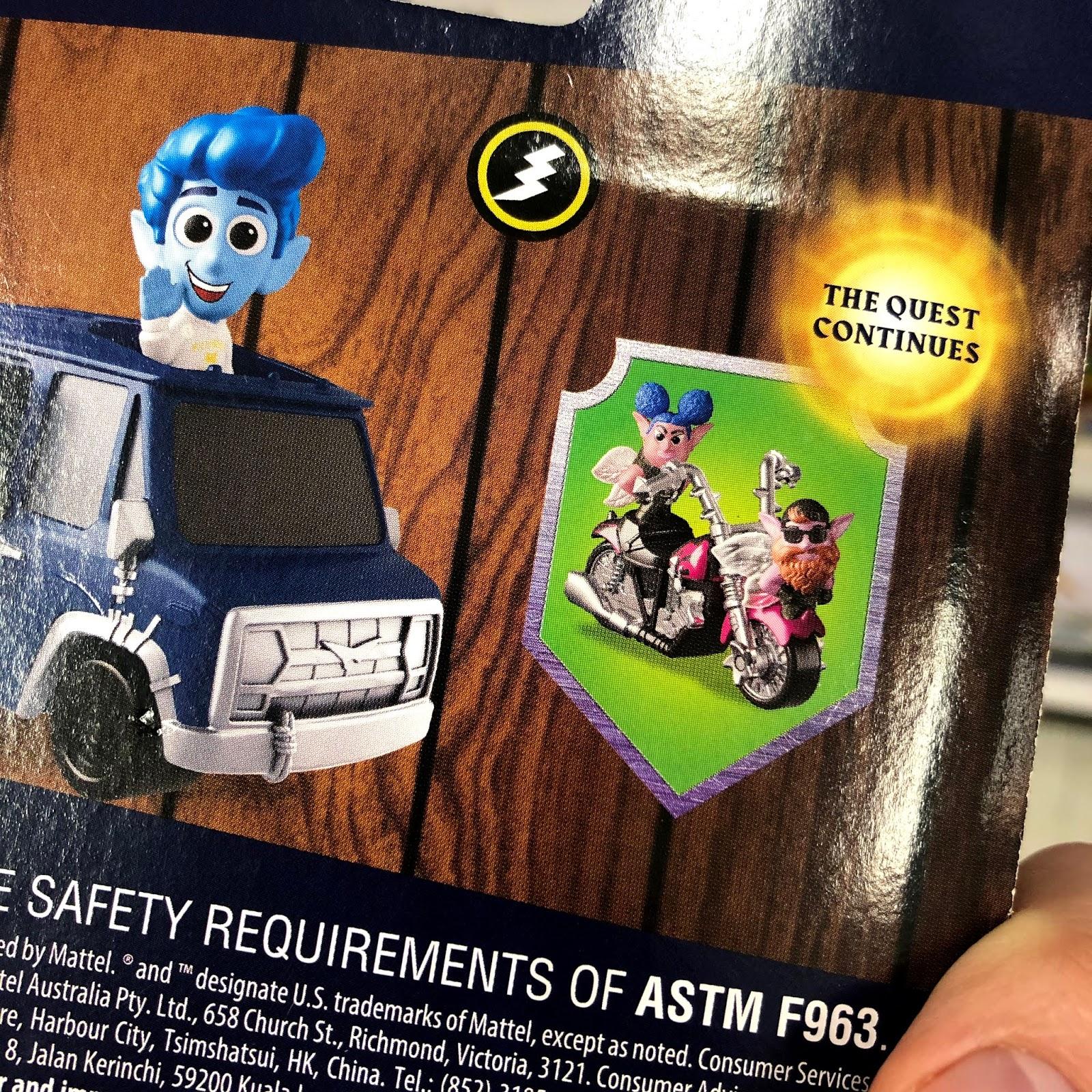 pixar onward minis vehicles