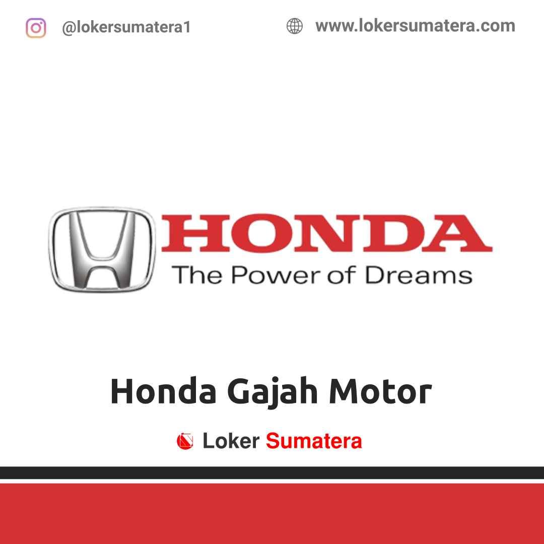 Lowongan Kerja Padang: Honda Gajah Motor April 2021