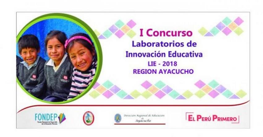 FONDEP: Escuelas de Ayacucho podrán acceder al financiamiento para proyectos de innovación educativa - www.fondep.gob.pe