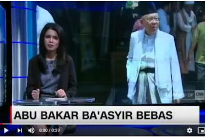 Video Ma'ruf Amin Sudah Puja puji Jokowi Setinggi Langit… Ehh Baasyir Batal Bebas
