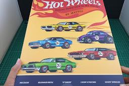 Unboxing Hot Wheels 50th Anniversary Originals set - Hot wheels Indonesia