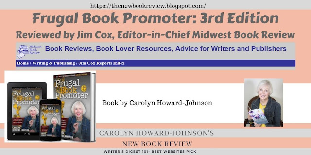 """Jim Cox Calls The Frugal Book Promoter """"Unreservedly Endorsed"""""""