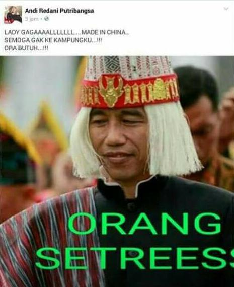 Jokowi dihina
