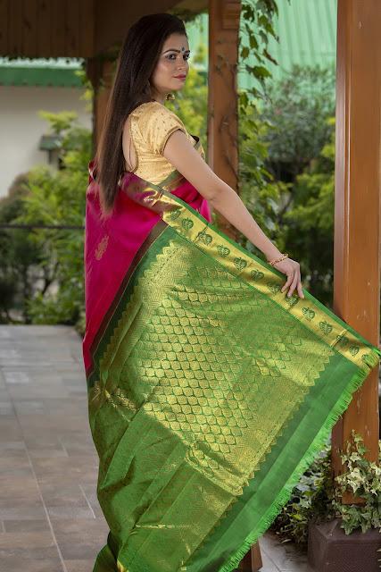 Kanjeevaram Bridal Sarees by BharatSthali