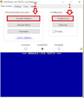 Cara Mengaktifkan Windows dan MS Office Dengan KMSpico