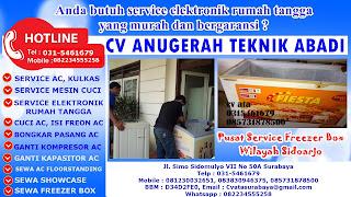 Pusat Service Freezer Box Wilayah Sidoarjo
