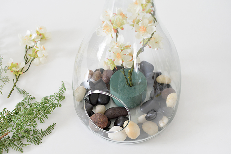 DIY spring centerpiece