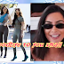 Kim Kardashian wear the big sunglasses for the second time