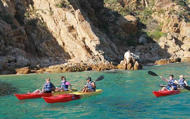 Kayaking in Cabo San Lucas