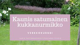 Kaunis satumainen kukkanurmikko -verkkokurssi