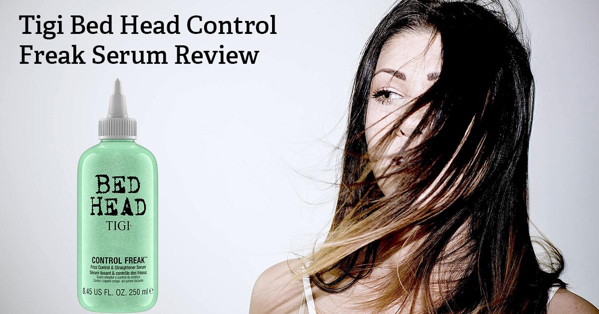 tigi bed head control freak serum review