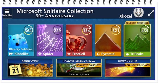 Microsoft Solitaire Collection - Xkozel alias Azazel