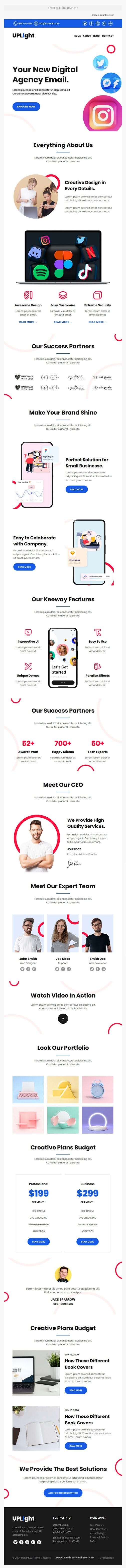 Agency Premium Responsive Email Template