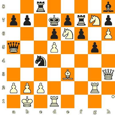 Les Blancs jouent et matent en 3 coups - Ni Hua vs Joseph-Mary Ssegirinya, Shenyang, 1999