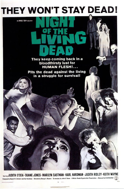 the night of the living dead poster
