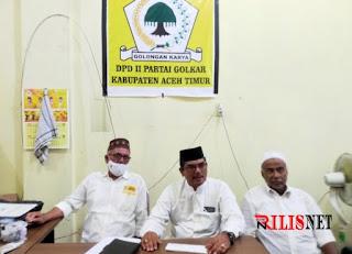 Dituding  Gelapkan Uang, Ketua Partai Golkar Aceh Timur Panggil Teuku Okta