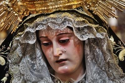 María Santísima de los Dolores Coronada por la Plaza de la Catedral. Semana Santa Cádiz 2019
