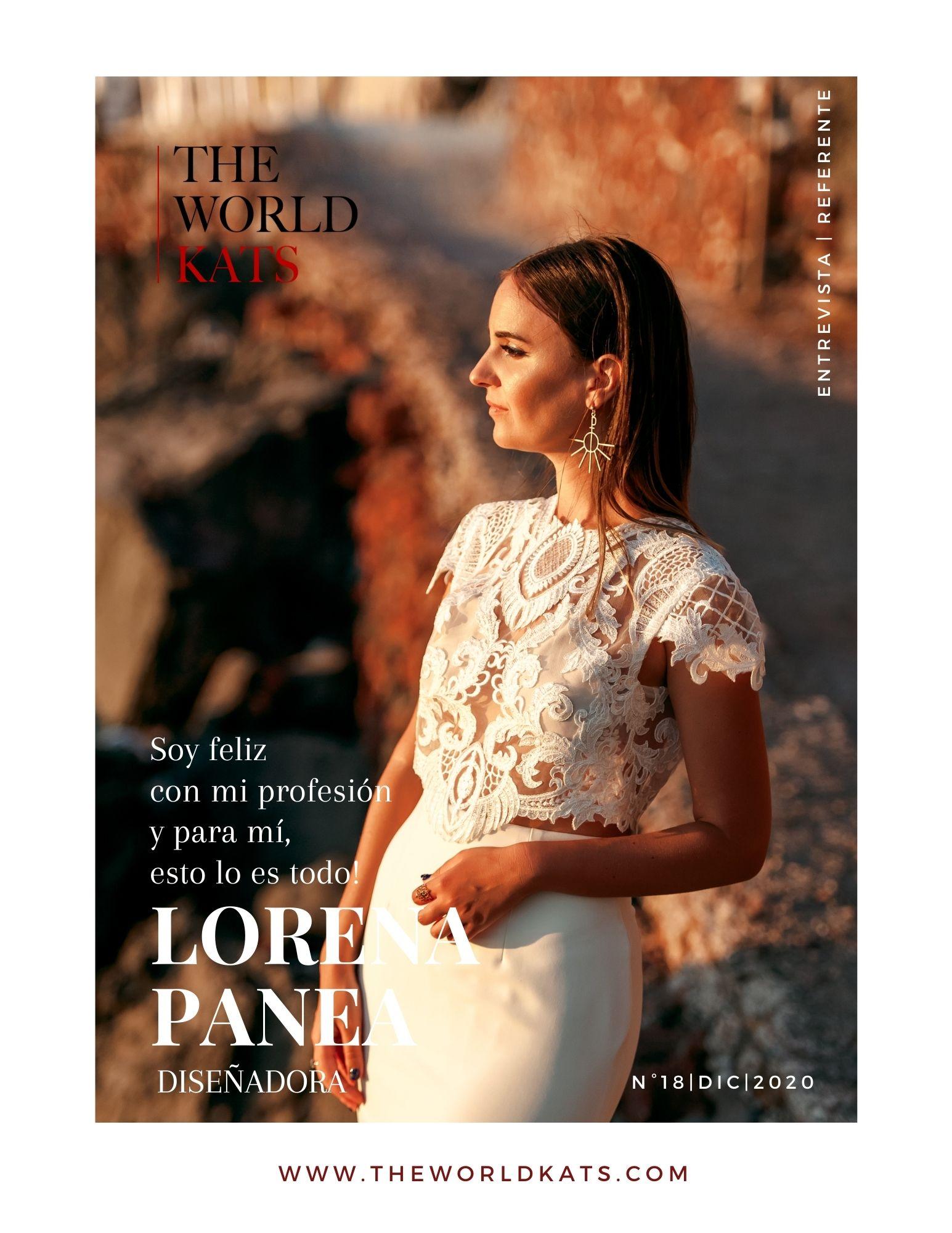 Entrevista a la diseñadora Lorena Panea