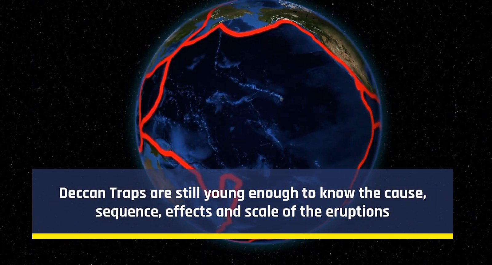 The volcanic scenario.