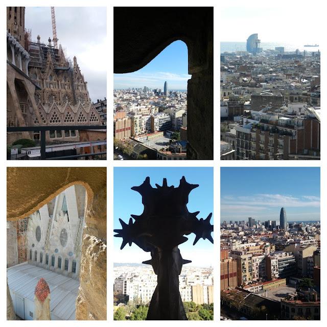 As igrejas mais lindas de Barcelona! Sagrada Família