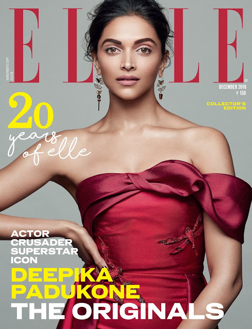 Deepika Padukone Elle India Magazine Photoshoot