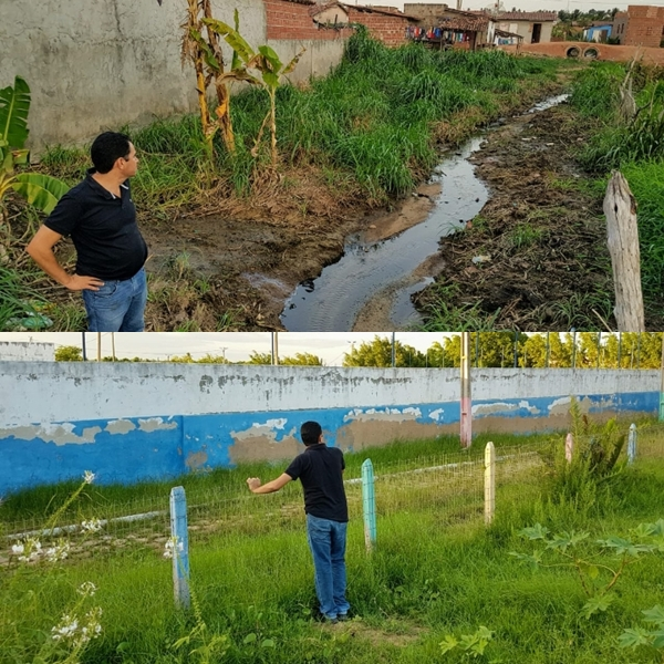 Vereador Pastor Frank: Abandono do Executivo municipal é o causador  dos problemas no bairro São Francisco