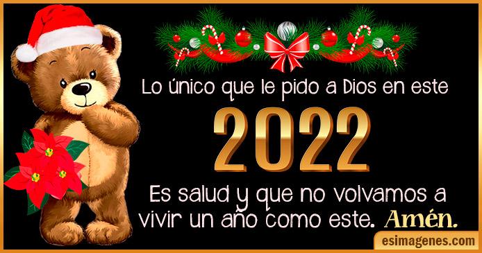 Tarjetas de Feliz Año Nuevo 2022