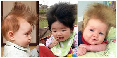 Rambut Bayi yang Lebat