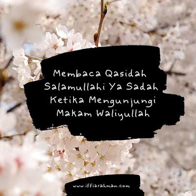 Qasidah Salamullahi Ya Sadah