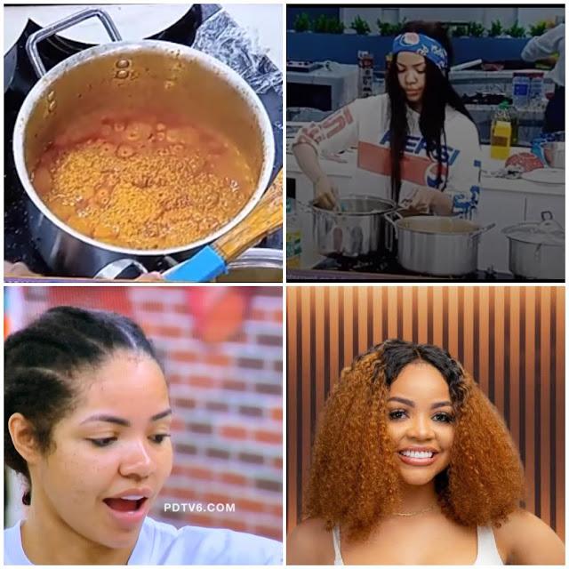 BBNaija Latest | Nengi's Egusi Soup | Video Of Nengi's Egusi Soup