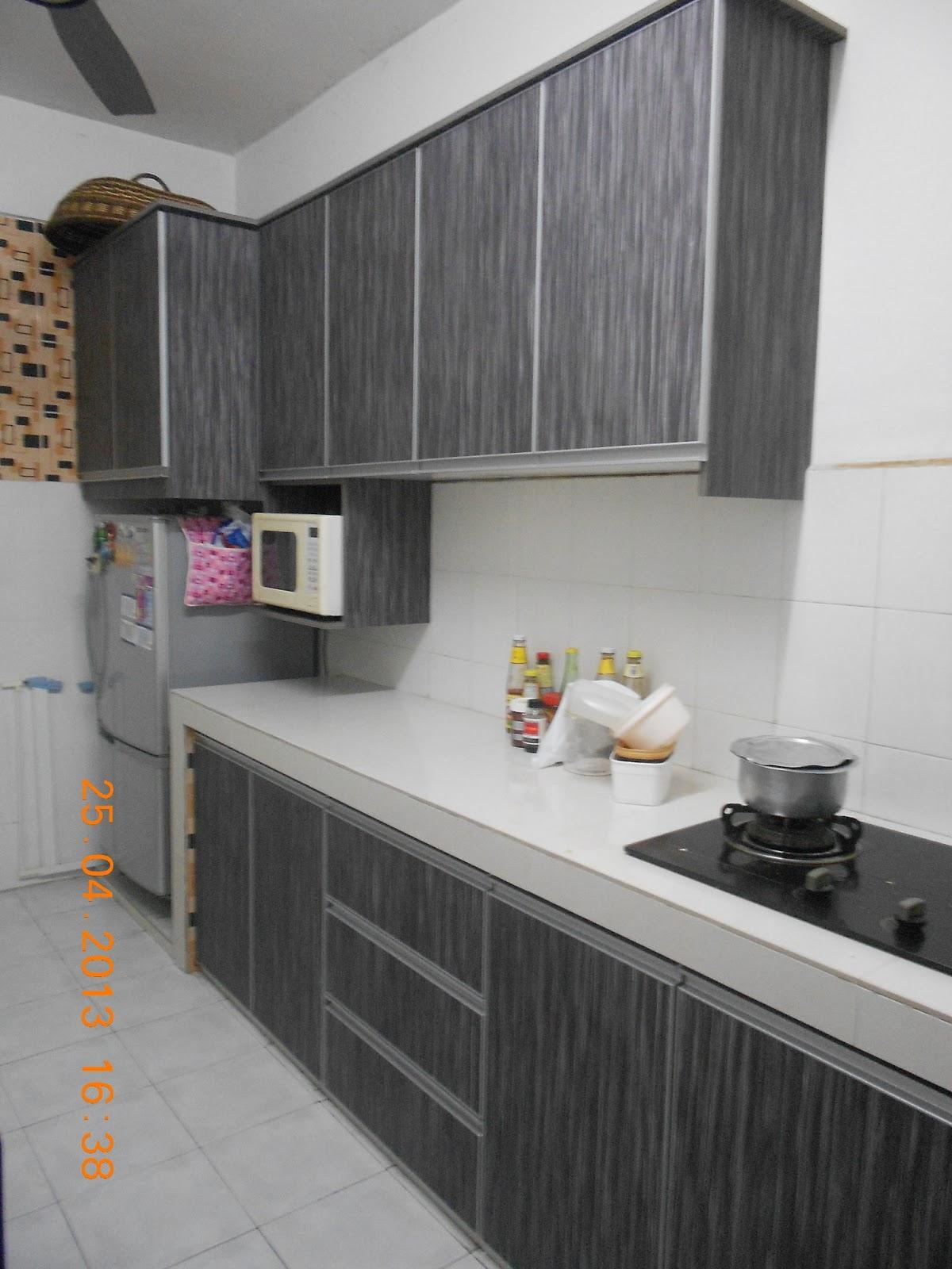 Contoh Warna Kabinet Dapur Desainrumahid
