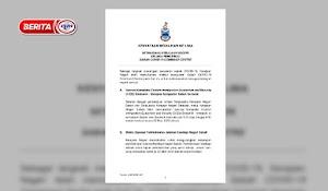 Covid-19 : Kerajaan Negeri Sabah Melaksanakan 7 Larangan Baharu