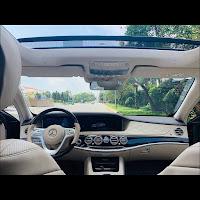 Mercedes S450 L Luxury 2018 đã qua sử dụng nội thất Kem