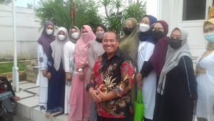 Mantul!!, Notaris H. Ade Ardiansyah Berikan Santunan ke Yatim Piatu dan Kaum Dhuafa