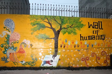 Wall of Humanity 3 in Faisalabad, Pakistan