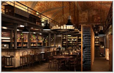 contoh desain interior cafe klasik mini